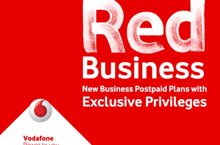 أسعار باقات Red Business للشركات من فودافون