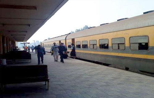 أسعار ومواعيد القطارات من القاهرة إلى بني سويف