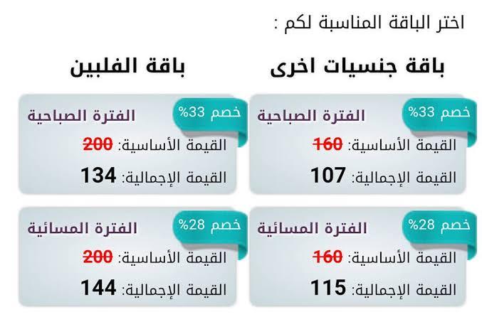 أسعار خدمة راحة بالشهر في السعوديه 2020