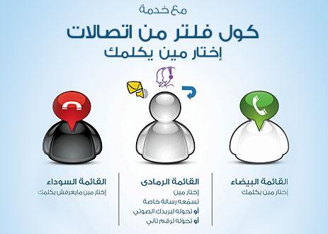 تفاصيل خدمة منع المعاكسات من اتصالات